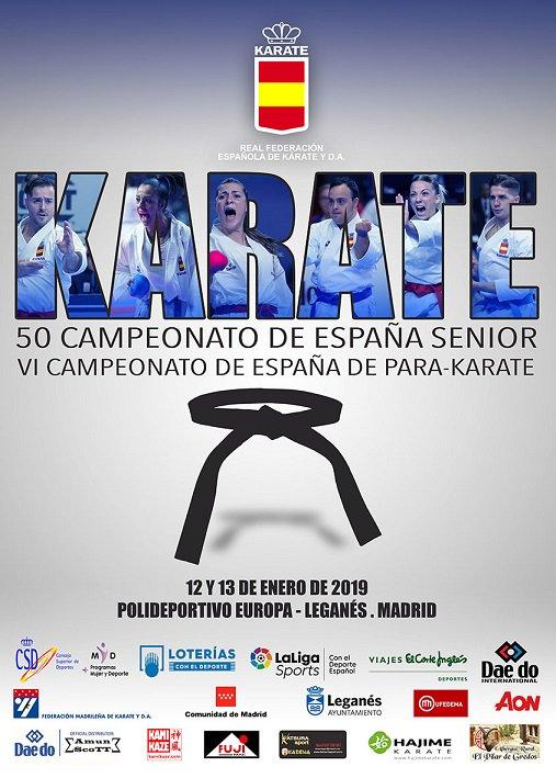 50 Campeonato de España Sénior y VI Campeonato de España para-karate