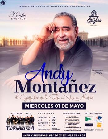 Concierto Andy Montañez | Live in Leganés - Madrid