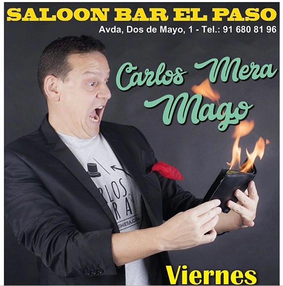 CARLOS MERA Espectáculo de Magia en el Paso