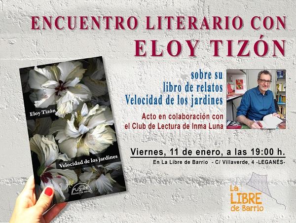 Encuentro literario con Eloy Tizón