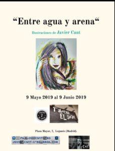 """Exposición de pintura """"Entre agua y arena"""" Javier Cant"""