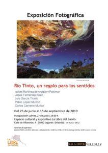 """Exposición fotográfica """"Río Tinto, una regalo para los sentidos"""""""