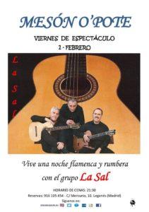 Noche rumbera y flamenca