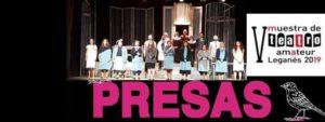 Presas V Muestra de Teatro Amateur