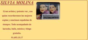 SILVIA MOLINA Canción Española en La Isla