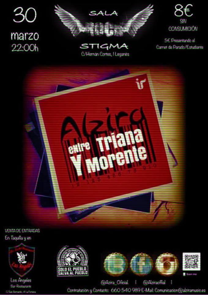 """Concierto solidarioa de """"Alzira"""" en la Sala Stigma"""