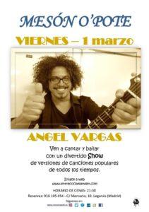 Angel Vargas en el O´pote