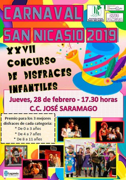 Concurso de Disfraces Infantiles de la AV de San Nicasio