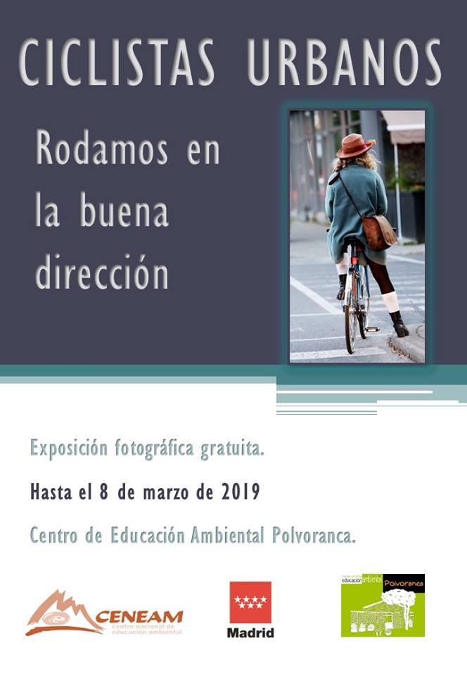"Exposición fotográfica ""Ciclistas Urbanos"""