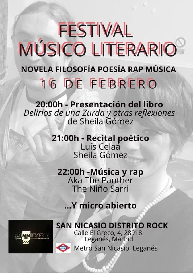 Festival músico literario