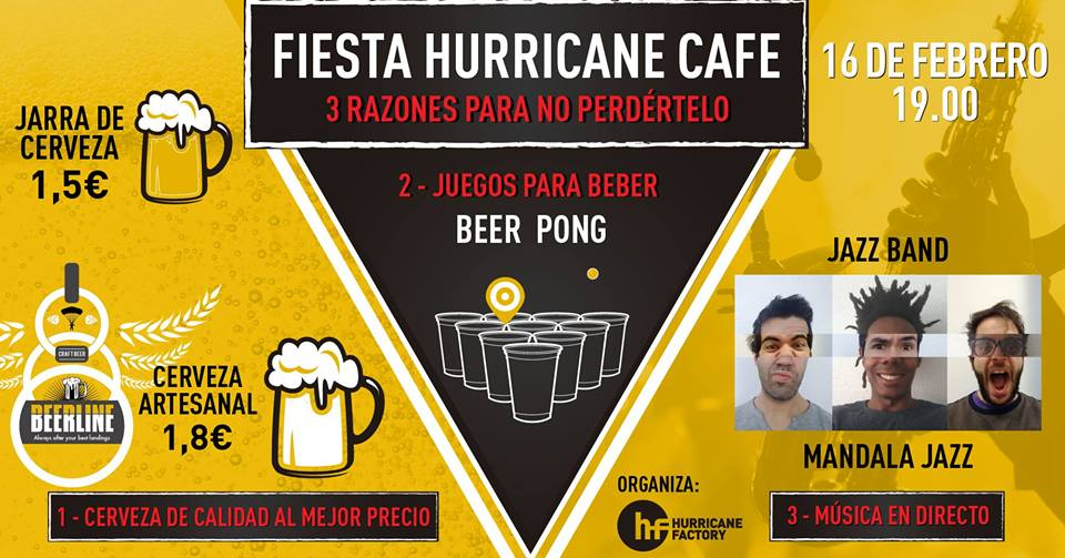 Fiesta Hurricane Cafe
