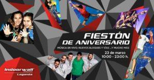 I Fiesta Aniversario Indoorwall