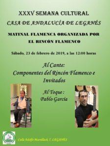 Matinal Flamenca en la Casa de Andalucía