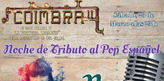 Neva tributo al Pop Español en el Coimbra