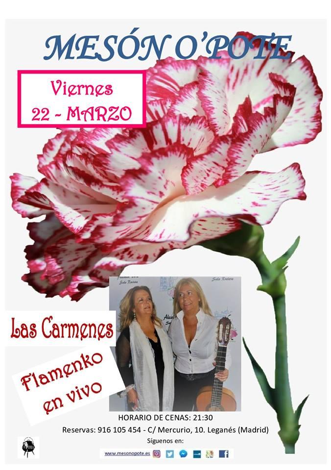 Flamenco en vivo Las Carmenes en el Mesón O´pote