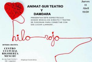 """Espectáculo de música en directo y teatro """"Hilo Rojo"""""""