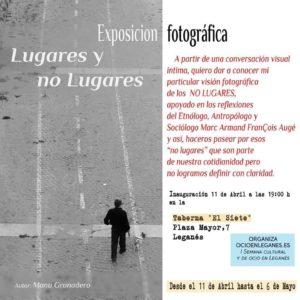 Lugares y No lugares: Exposición de fotografía