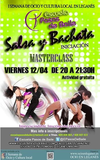 Masterclass Bachata y Salsa gratuita