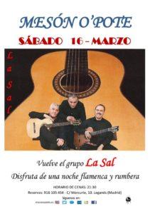 Sevillanas y rumbas con el grupo LA SAL