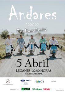 actuación musical del Grupo Andares