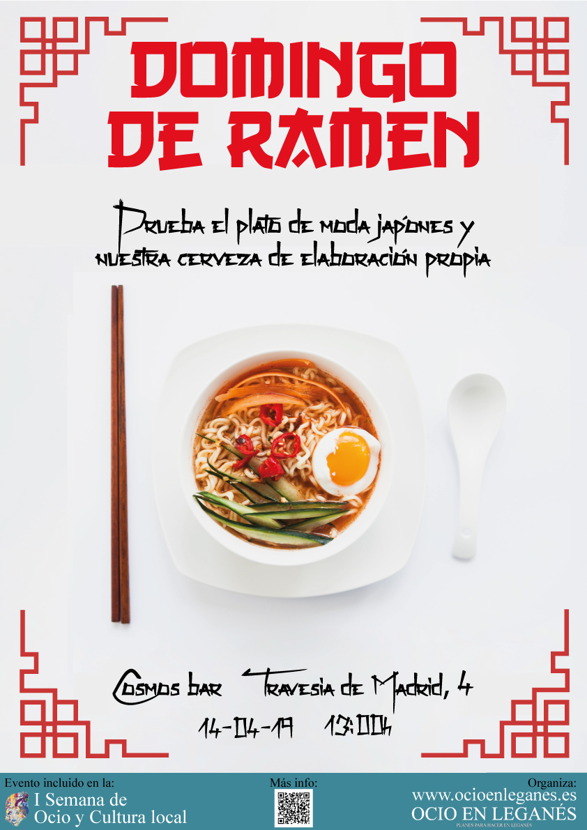 Domingo De Ramen En El Cosmos Bar