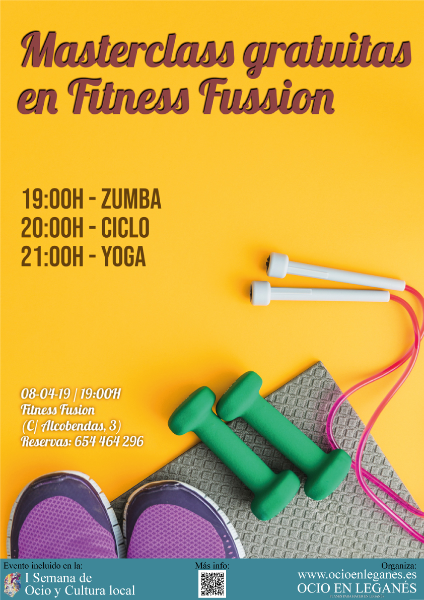 Masterclass Fitness Fussion: Actividades deportivas