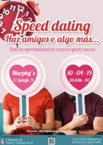Speed Dating: Haz Amigos o Algo Más