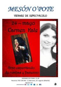 Carmen Kale en el Opote