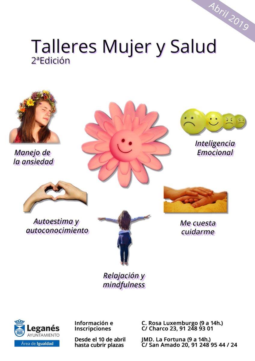 Talleres Mujer y Salud gratuitos en Leganés