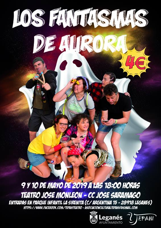 Teatro de Tepahi Los fantasmas de Aurora