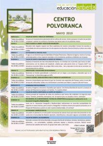 actividades centro polvoranca mayo 2019