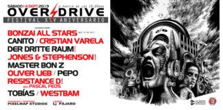 Over Drive: Festival XXV Aniversario en la Cubierta