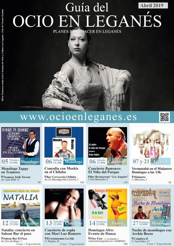 Revista Guía del Ocio en Leganés Abril 2019