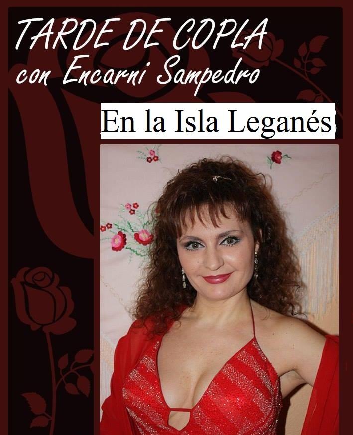 Rumbas, copla y canción española con ENCARNI SAMPEDRO en la Isla