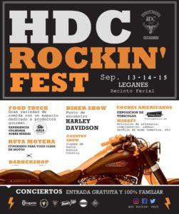 HDC Rockin Fest 2019 en Leganés