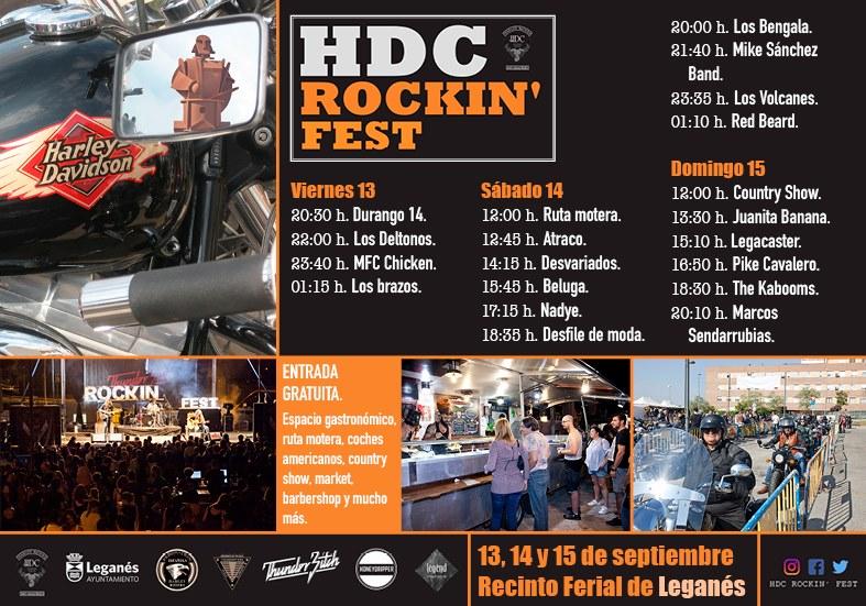 Resultado de imagen de hdc rockin fest leganes