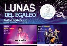 Lunas del Egaleo 2019 programación completa