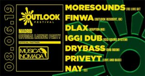 OUTLOOK FESTIVAL 2019 MADRID LAUNCH PARTY