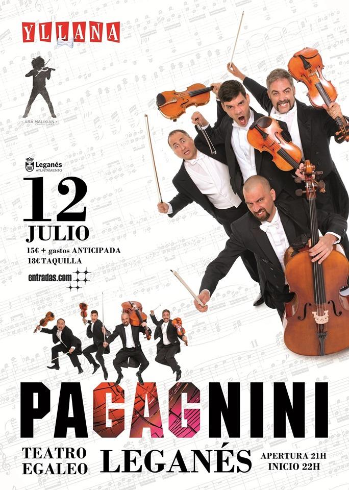 Pagagnini: Espectáculo humorístico