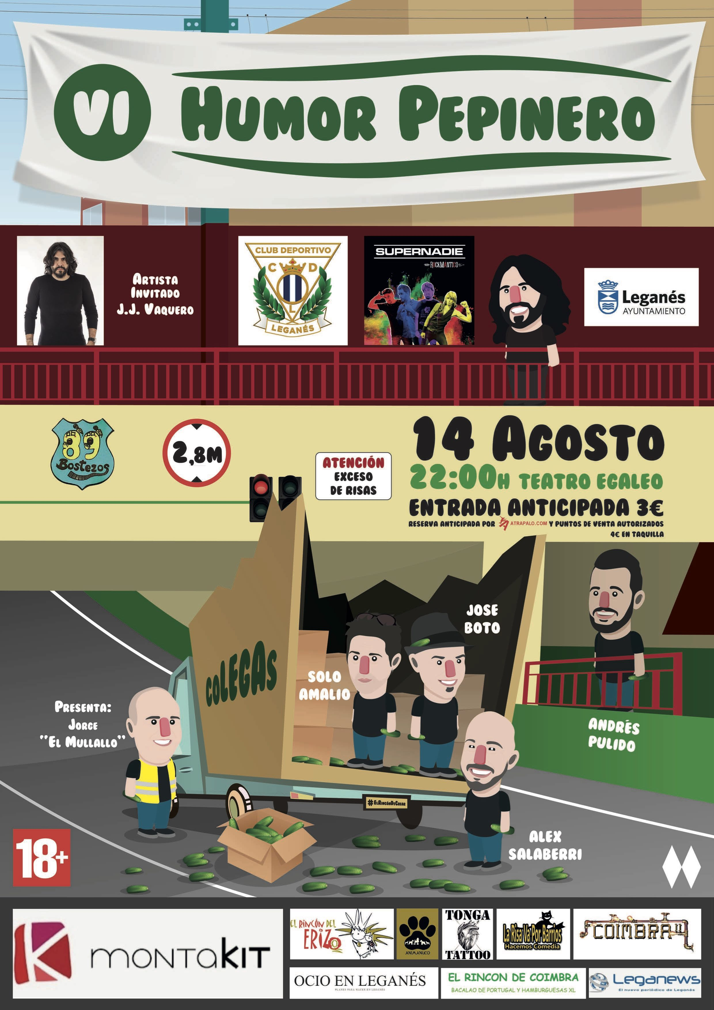 VI Festival De Humor Pepinero