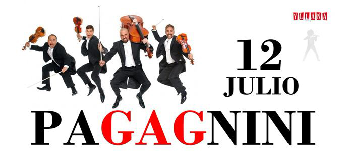 Comprar entrada comedia Pagagnini espectaculo humoristico