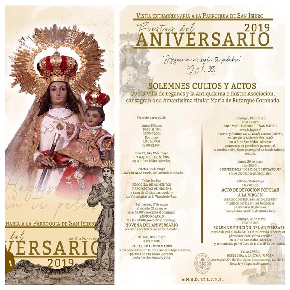 Mayo del Coros y Danzas Villa de Leganés