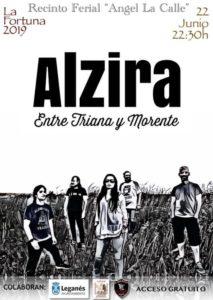 Alzira Entre Triana y Morente en La Fortuna