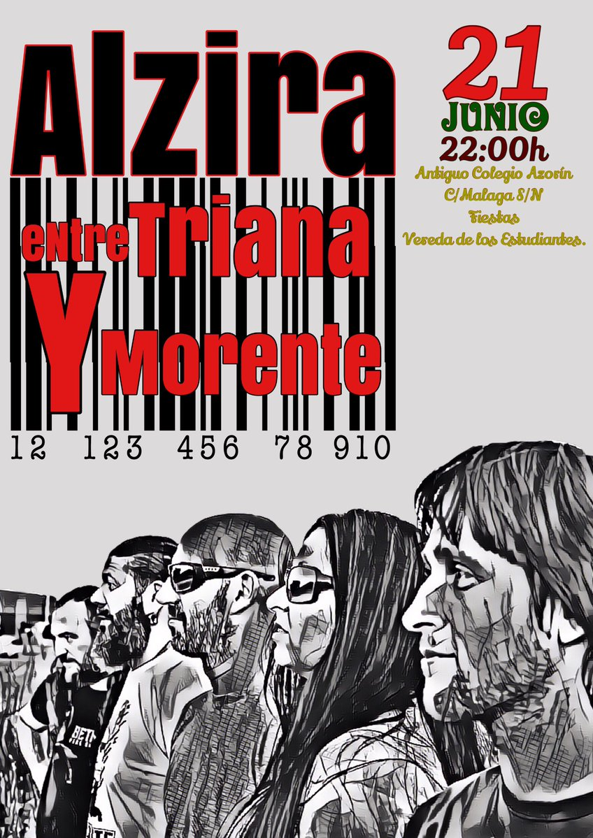 Concierto de Alzira en Vereda de los Estudiantes