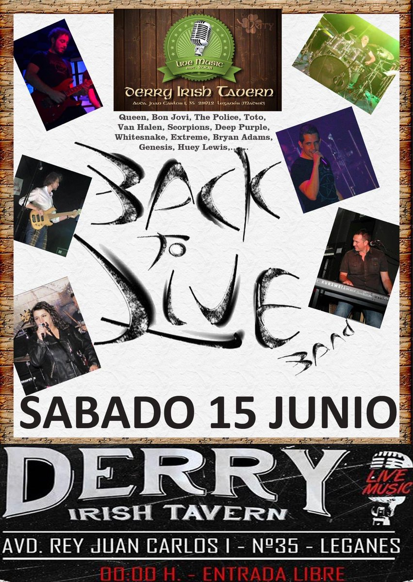 Back to Live en el Derry