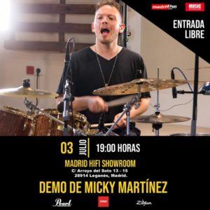 Demo Micky Martinez en Madrid Hi-Fi