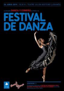 Festival de danza en el Besteiro con la Escuela Danza y Compás