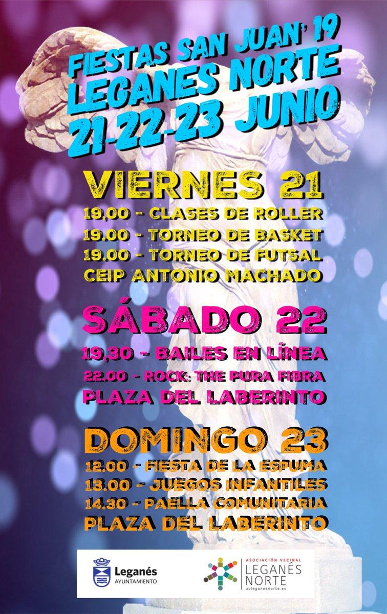 Fiestas de San Juan 2019 en Leganés Norte