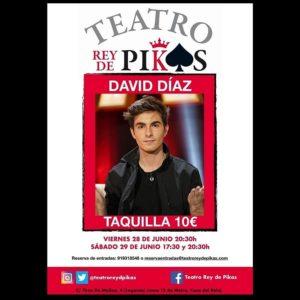 La magia deDavid Diaz en el Teatro Rey de Pikas