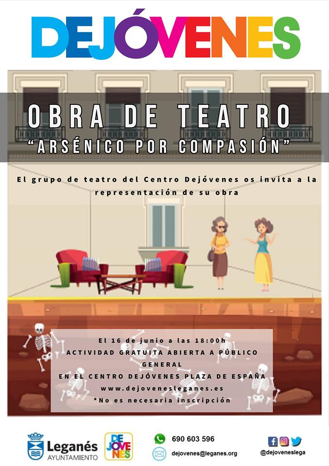 """Teatro """"Arsénico por Compasión"""""""